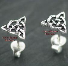 Ohrstecker Keltischer Knoten Ohrschmuck Silberstecker  Feingehalt Silber 925
