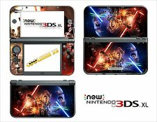 SKIN STICKER AUTOCOLLANT - NINTENDO NEW 3DS XL -  REF 204 STAR WARS 7