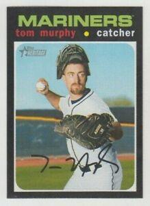 (10) Tom Murphy 2020 TOPPS HERITAGE BASE CARD LOT #11 SEATTLE MARINERS