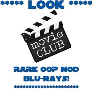**LOOK** * Blue Ray Movies * LOOK * You Pick Title * RARE OOP MOD NEW
