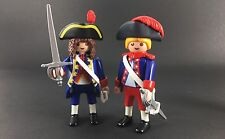 playmobil royal guards Shields figures rare lot custom Pirate Confederate French