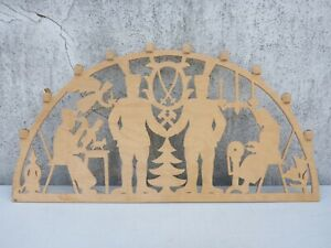 alter Schwibbogen Lichterbogen Holz Weihnachten 70,6 cm breit als defekt