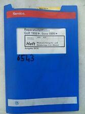 Werkstattbuch Reparaturleitfaden VW Golf Bora Einspritz-und Zündanlage 2,0l#6543