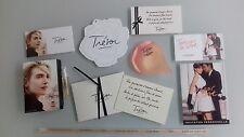 Lot de cartes à parfumer  « Trésor » de Lancôme :