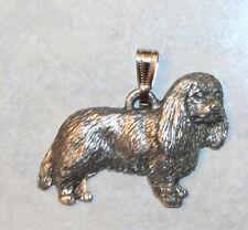 Cavalier King Charles Spaniel Dog Harris Fine Pewter Pendant Usa Made