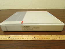 HP 8590D Spectrum Analyzer Calibration Guide