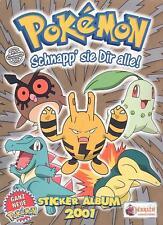 Pokemon Gold (Nintendo) über 60 Sticker von Merlin Sticker/Sammelbilder/Glitzer