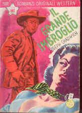 I6  COLLANA RANCH ROMANZI ORIGINALI WESTERN N. 81 MAGGIO 1960 - EDIZ. DARDO