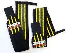 "INZER Gripper Wrist Wraps (Pair) 20"" Powerlifting Weight Lifting Bench Press"