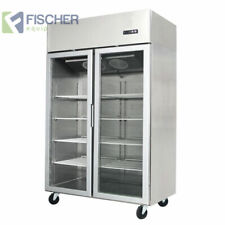 """""""BRAND NEW"""" 1300L COMMERCIAL DOUBLE GLASS FREEZER EMBRACO COMPRESSOR - MCF02-GL"""