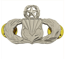 Vanguard AIR FORCE BADGE: CHAPLAIN ASSISTANT: MASTER - MIDSIZE