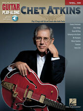 Chet Atkins Guitar Play-Along Vol 59 Tab Sheet Music Song Book Online Audio