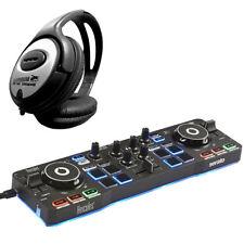 Hercules Djcontrol Starlight 2-Deck USB Dj Controller + Keep Drum Headphones