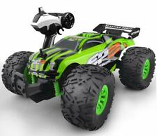 RC Monster Truck Car 1:18 Scale 4WD 2.4Ghz Off-road Remote Control Car Green