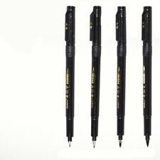 4pcs/set Calligraphy Brush Chinese Japanese Student Creative Stationery Pen