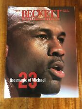 Beckett Basketball Magazine Monthly Price Guide Michael Jordan Lot Of 3