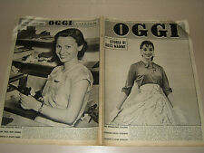 OGGI=1955/24=DE LA FOLLYE=PABLITO CALVO=GASTONE NENCINI=ROMINA POWER TYRONE=