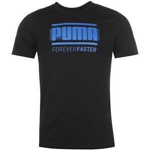 Puma Herren T-Shirt Retro Logo Tee Shirt Kurzarm Baumwolle S M L XL NEU