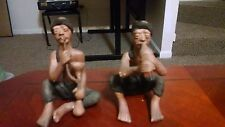 Two Collectible, Hand Made Indian Figurines. Very cool!