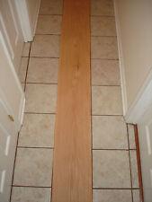 New listing One Red Oak Wood Veneer Sheet 12 '' x 94'' X 1/20 Or .050 Over 40 Years old