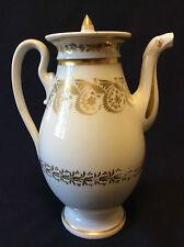 Théière ou verseuse en porcelaine de Paris Empire XIXe France