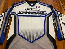 AMA Motocross Racing Signed Rider Jersey — Brandes #68 O'Neal Racing Yamaha