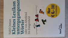Kleines Lexikon untergegangener Woerter, Osman, 15. Auflage, 2004