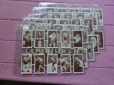 More details for complete set - churchman 1938 - boxing personalities ( louis dempsey johnson )