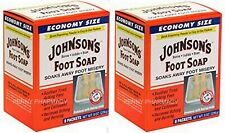 Johnson's Original FOOT SOAP 8 ct ( 2 pack )  FRESH PHARMACY STOCK!