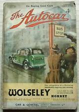 The AUTOCAR Magazine 6 Mar 1936 ROVER 12 SPORTS Hillman 80 Sports LANCHESTER TEN