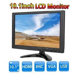 10.1 inch Portable 1920x1080 IPS Monitor LCD Display VGA/HDMI/BNC/AV/USB Input