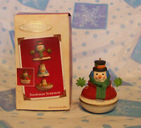 Hallmark Keepsake Ornament Snowman Surprise with 3 nesting snowman 2003