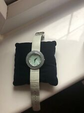 Ladies Baby Blue Swarovski Crystal Watch