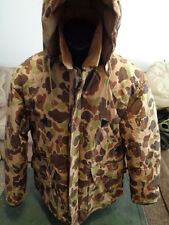Cabelas Camo Hunting GooseDown Parka W/Game pouch