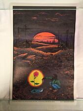 Vintage NOS Tomorrow's Garden Blacklight Poster Mini 11x17 1972 IMS Corp M141
