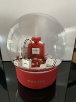 Chanel Red No. 5  XL Snowglobe w/USB Charger