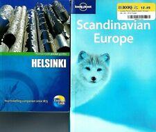 2 Travel Books! Lonely Planet Scandinavian Europe & Thomas Cook Helsinki Guide