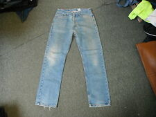 "Levi's 505 Regular Fit Jeans Waist 33"" Leg 31"" Faded Medium Blue Mens Jeans"