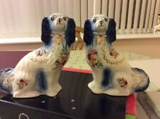 More details for vintage porcelain china king charles spaniels
