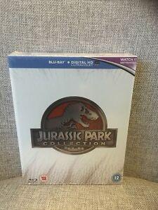 Jurassic Park Collection [Blu-ray] [Region Free] New Sealed. 4 Films. Freepost