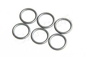 Genuine BMW 1 3 5 6 7 X3 X5 Oil Cooling Pipe Gray O-Rings 10.82x1.78 6 Pcs