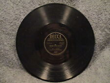 """78 RPM 10"""" Record Fred Waring My Cathedral Bless This House Decca Records 24537"""