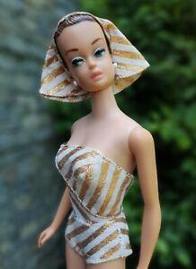 Ancienne poupée BARBIE vintage FASHION QUEEN de 1963 - NO REPRO