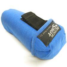 Vtg Quick Shot Blue Nylon Padded Lens Accessory Bag USA Made