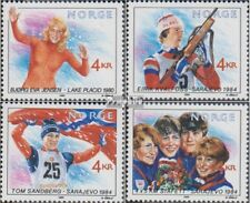 Norway 1027-1030 (complete issue) unmounted mint / never hinged 1989 Olympics Wi