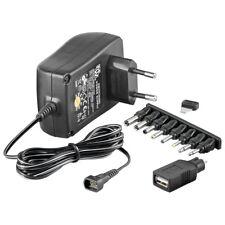 Universal Stecker-Netzteil 3V 4,5V 5V 6V 7,5V 9V 12V 1,5A 18W Netzgerät  Minwa