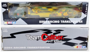 NASCAR Team Caliber Pit Stop 2004 Disney Mickey Racing Transporter Model Truck