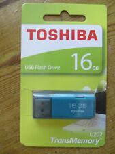 TOSHIBA usb flash drive 16gb transmemory u202 new sealed