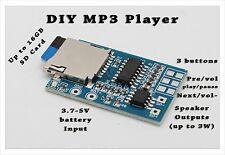 1pc DIY MP3 Player Decoder Board TF Card Slot Decoding  Module Mono Amplifier