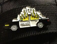 FTP Enamel pin Burning Cop Car Police Car on Fire Protest Police Brutality